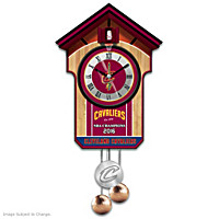 Cleveland Cavaliers Cuckoo Clock