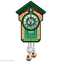 Boston Celtics Cuckoo Clock