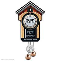 San Antonio Spurs Cuckoo Clock
