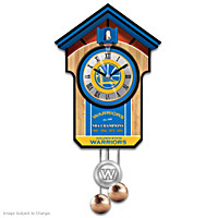 Golden State Warriors Cuckoo Clock
