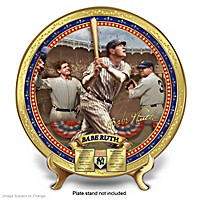 Babe Ruth Commemorative Collector Plate