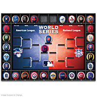 Major League Baseball Season Tracker Wall Decor