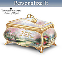 My Daughter I Love You Personalized Music Box