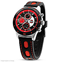 Game Time Ohio State Buckeyes Men's Watch