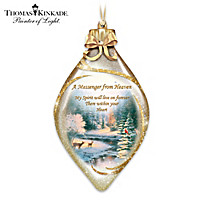 Thomas Kinkade Heavenly Messenger Ornament