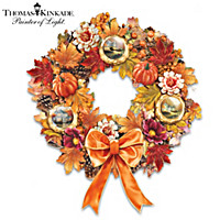Thomas Kinkade Splendor Of The Season Wreath