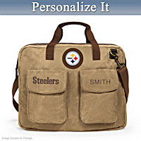 Pittsburgh Steelers Personalized Tote Bag