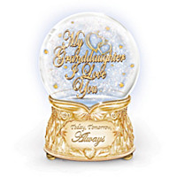 My Granddaughter, I Love You Crystal Glitter Globe