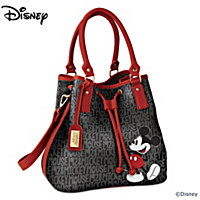 Disney Sophisticated Mickey Handbag