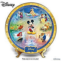 Disney Magic Moments Collector Plate