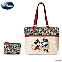 Disney Love Is In The Air Tote Bag