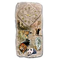 Nature's Timeless Majesty Wall Clock