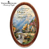 Thomas Kinkade Gift Of The Seasons Collector Plate