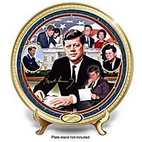 John F. Kennedy Commemorative Collector Plate