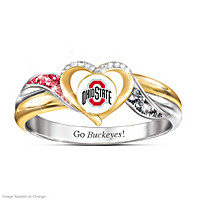 Ohio State Buckeyes Pride Ring