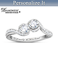 Forever & Always Us Personalized Ring