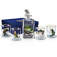 Al Agnew's Perfect Catch Decanter Set
