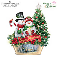 Thomas Kinkade Welcoming Light Centerpiece
