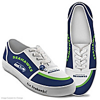 Seattle Seahawks #1 Fan Women's Shoes