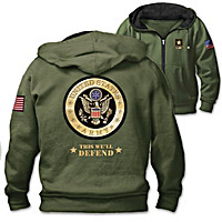 This We'll Defend Men's Hoodie