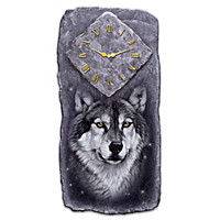 Hour Of The Wolf Wall Clock