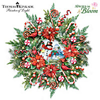 Thomas Kinkade Holiday Delights Wreath
