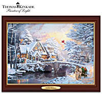 Thomas Kinkade Holiday Harmony Wall Decor