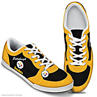 Pittsburgh Steelers #1 Fan Women's Shoes