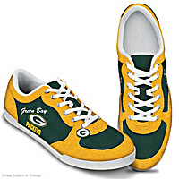 Green Bay Packers #1 Fan Women's Shoes