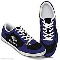 Baltimore Ravens #1 Fan Women's Shoes