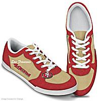 San Francisco 49ers #1 Fan Women's Shoes