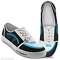 Carolina Panthers #1 Fan Women's Shoes