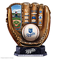 Kansas City Royals Glove Sculpture