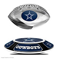 Dallas Cowboys Levitating Football Sculpture