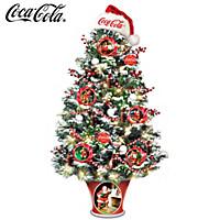 COCA-COLA The Merriest Season Of All Tabletop Tree