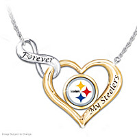 Forever My Steelers Diamond Necklace