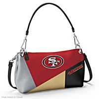 San Francisco 49ers Convertible Handbag