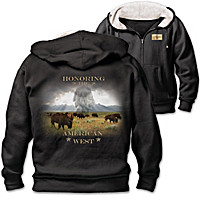 The American West Men's Hoodie