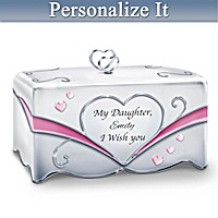 My Daughter, I Wish You Personalized Music Box
