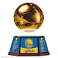 Warriors 2017 NBA Finals Championship Basketball Sculpture