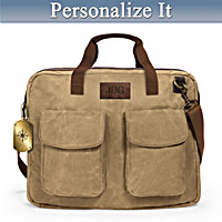 My Son, Forge Your Own Path Personalized Messenger Bag