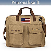 U.S.A. Pride Personalized Messenger Bag