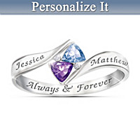 Love's Promise Personalized Ring
