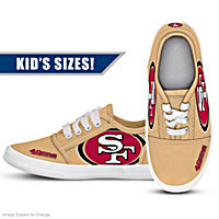San Francisco 49ers Kid's Shoes