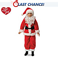 I LOVE LUCY Holiday Fashion Portrait Doll