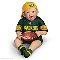 Packers Super Bowl Champions Commemorative Baby Doll