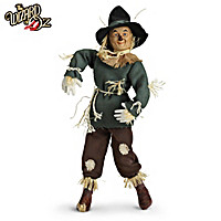 The Scarecrow Portrait Doll