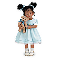 Mayra Garza Jada And Teddy Child Doll