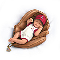 Born A Cardinals Fan 2013 World Series Champions Baby Doll