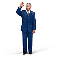 Nelson Mandela Talking Commemorative Portrait Doll